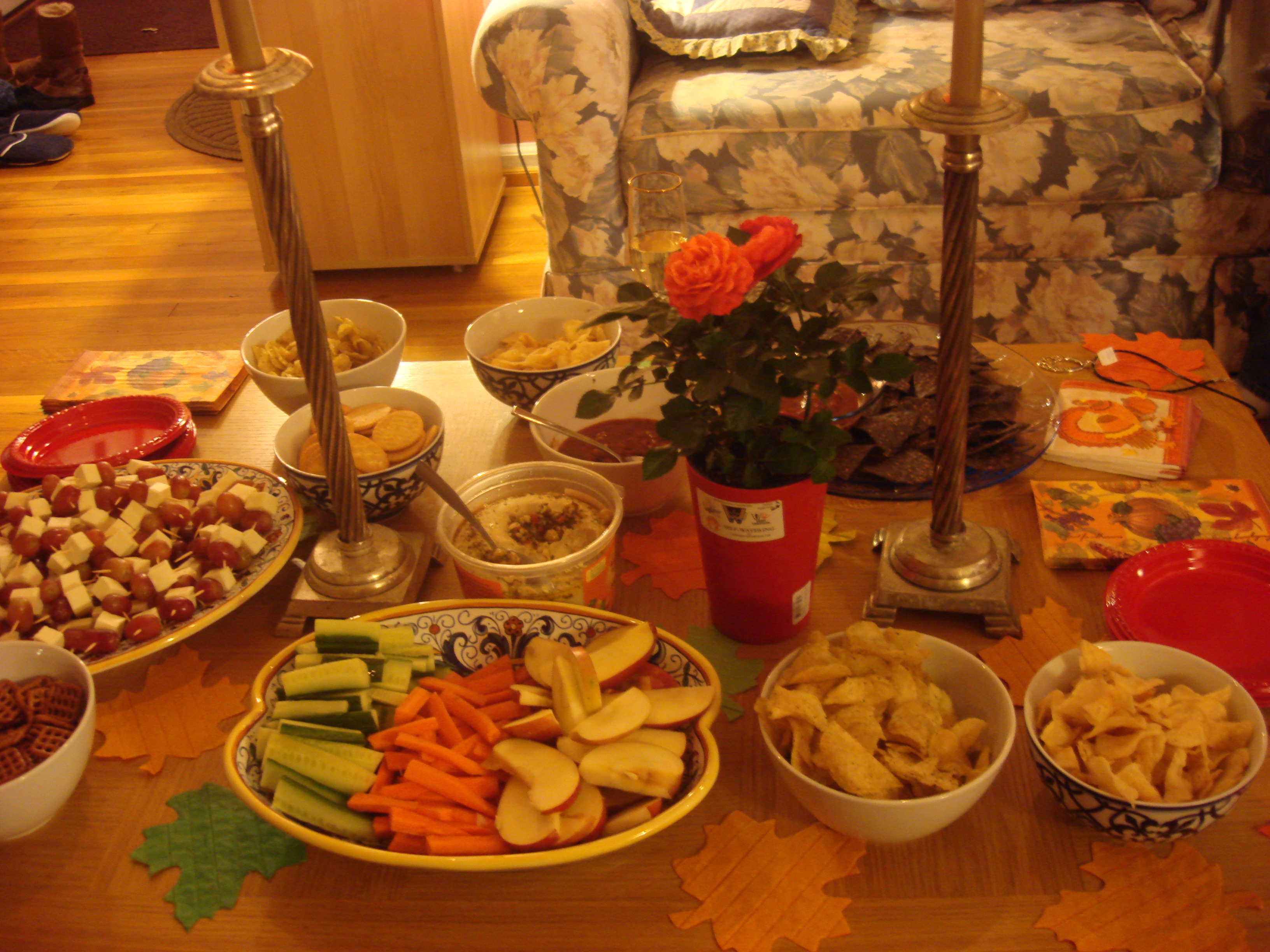 do-the-best-you-can jewelry party snack table. White cheese and ...
