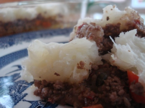 Pastelón de yuca is the Puerto Rican shepherd's pie...
