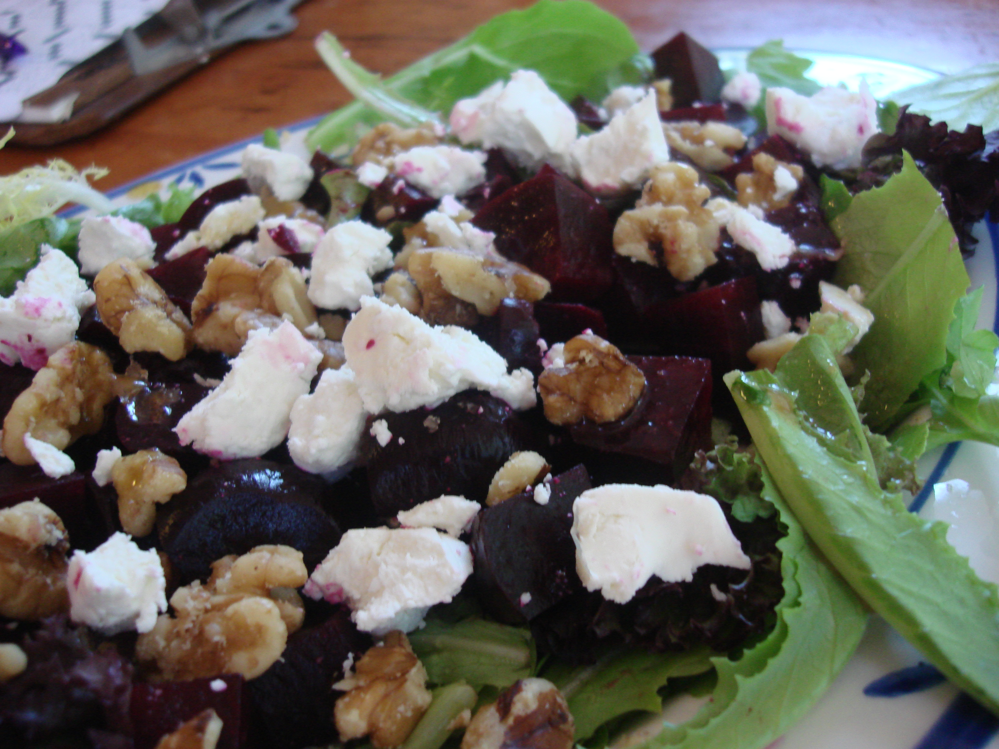 Roasted Beets with Goat Cheese | Hot, Cheap & Easy