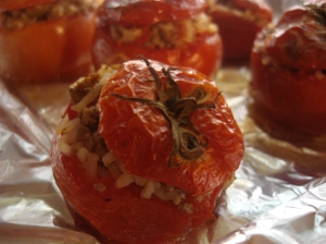 Stuffed Tomatoes!
