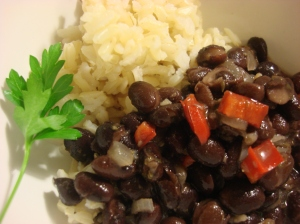 Five Minute Black beans - I KID YOU NOT - FIVE MINUTE PREP