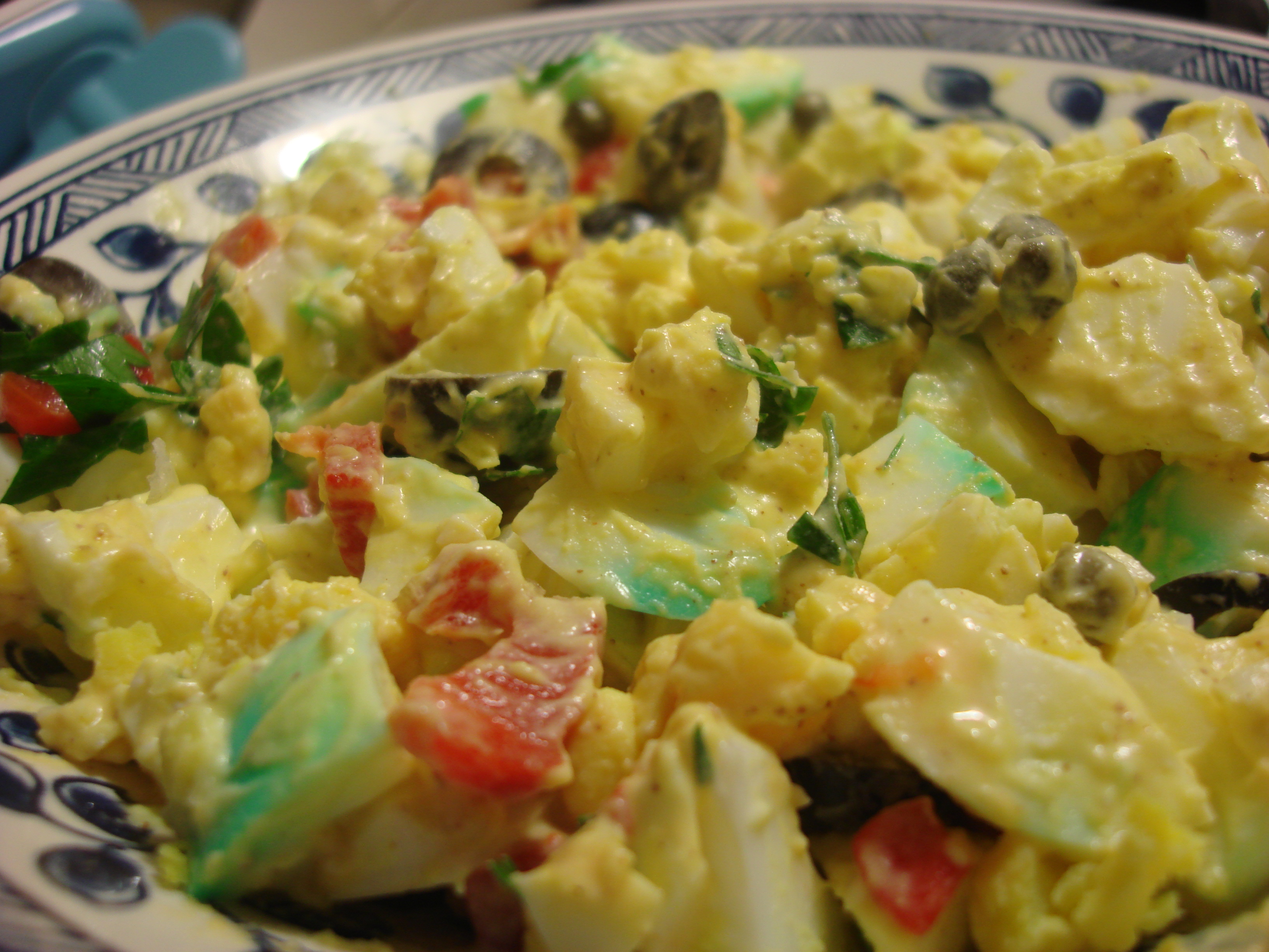 deviled egg salad this deviled egg salad ella s egg salad from chez ...