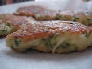 Zucchini Rosemary Manchego Fritters Yum