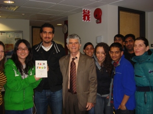 Dr. Oran Hesterman, his book, and my students