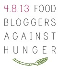 Food Bloggers Against Hunger! Click the image for more information