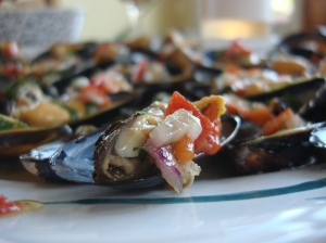 Mussels Vinaigrette is still in my top five. Click image for recipe!