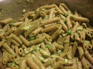 I used bionaturae whole wheat penne...The only whole wheat pasta that I consider better than any white!