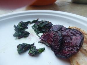 That caramelization balances the saltiness!