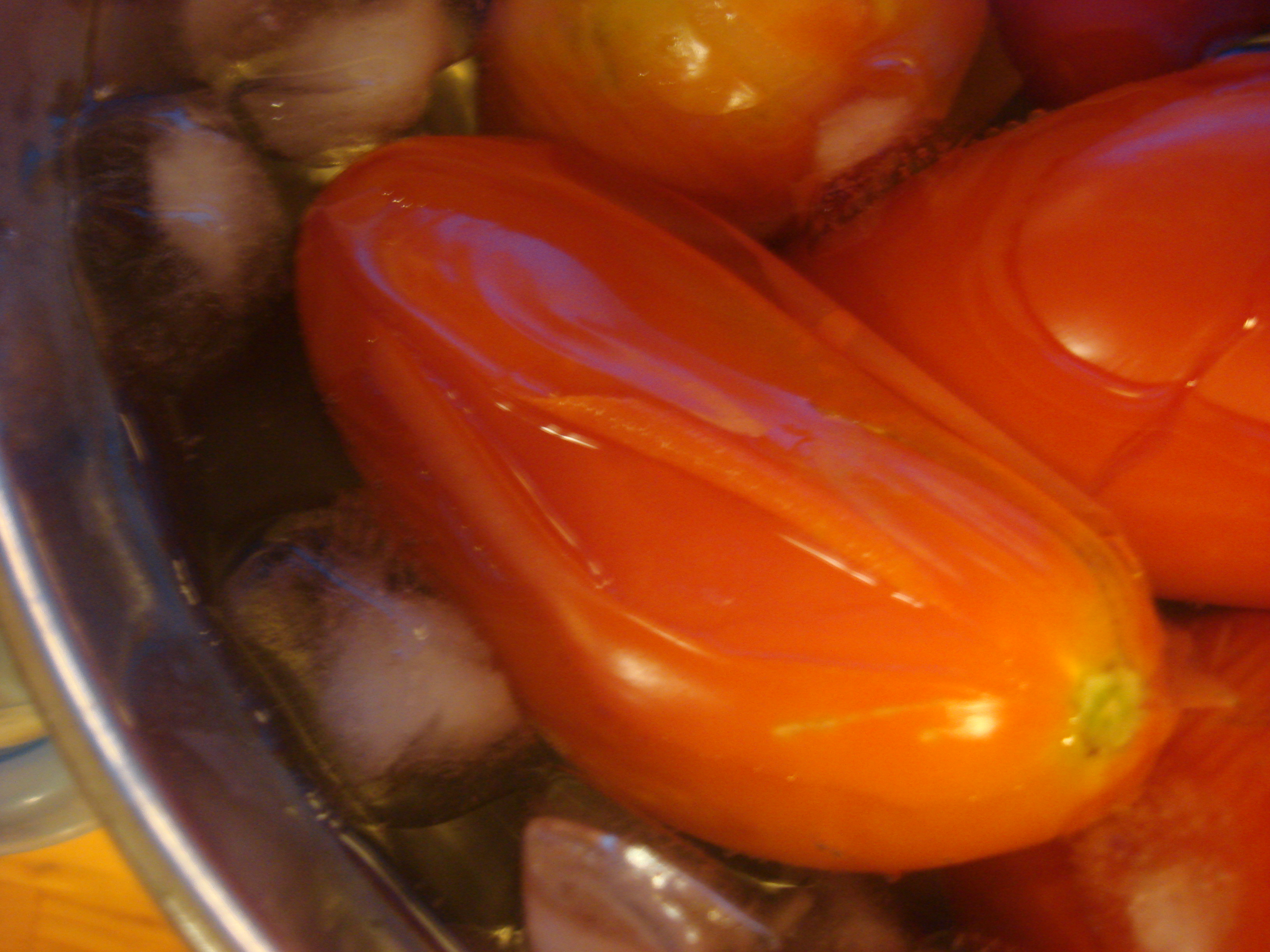 How To Blanch Blend And Freeze Paste Tomatoes For Raw Sauce Hot