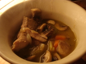 "The moms pronounced this turkey and mushroom soup ""heavenly:"