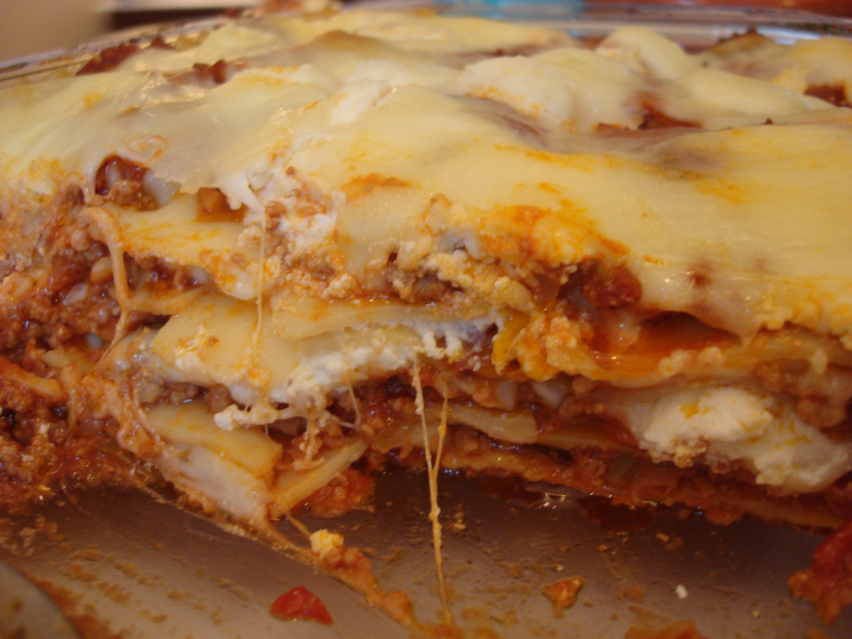 Lasagne lasagna lasaa keeping it simple making it puerto rican layers of gooey goodness forumfinder Images