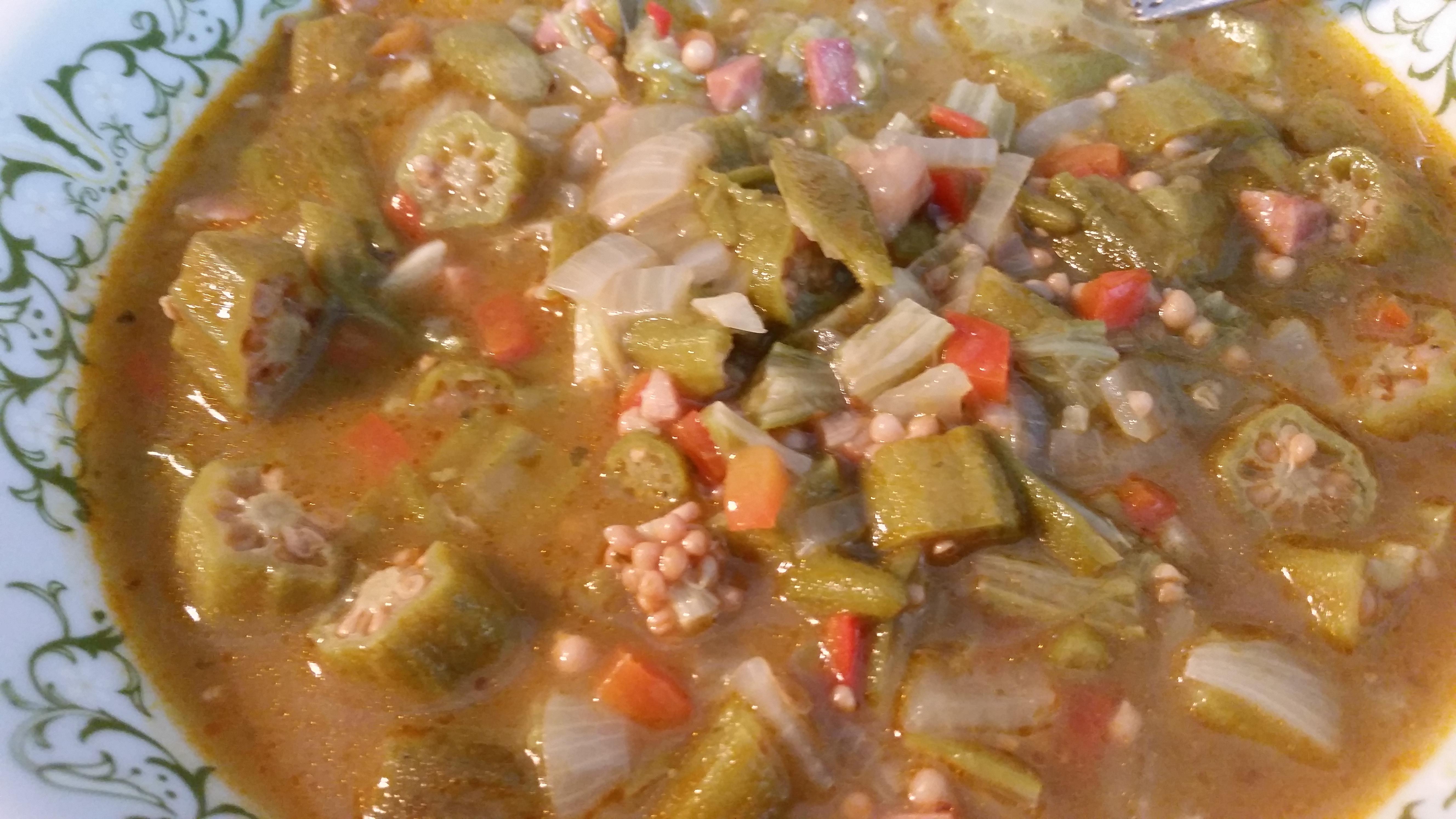guingamb u00f3 guisado  stewed okra  even if you think it u2019s