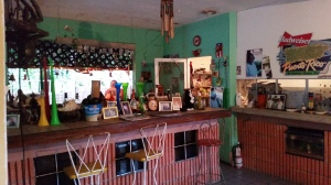An eclectic and friendly joint, with loads of Puerto Rico memorabilia and drums!