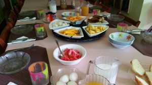 Breakfast at Casa Cubuy