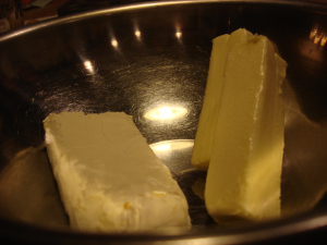 Yes this much butter, this much cream cheese. Get your jaw off the floor and get cooking!
