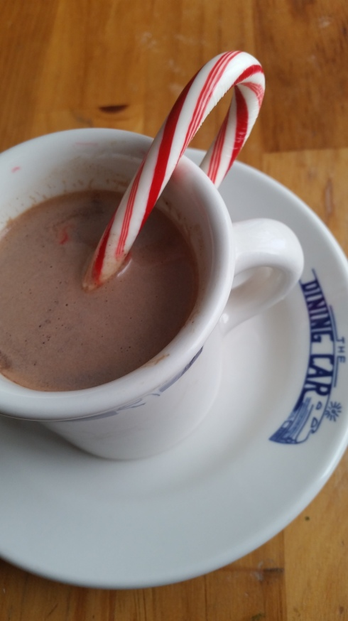 Make a simple hot cocoa special and fun