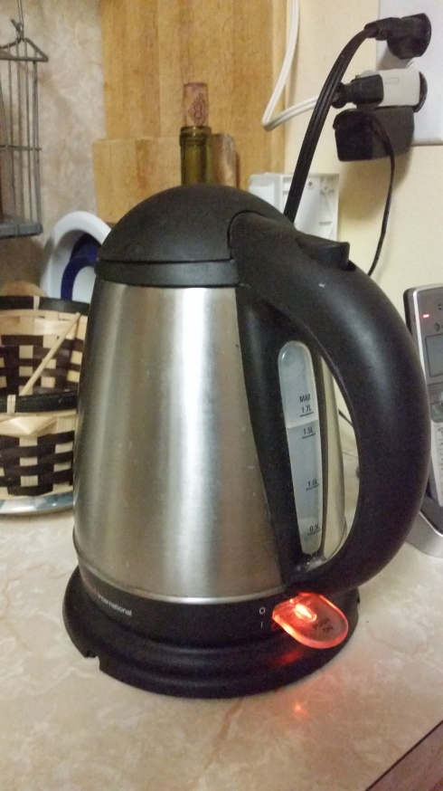 Electric kettles shut off automatically when the water boils, so they are safer than stovetop boiling!